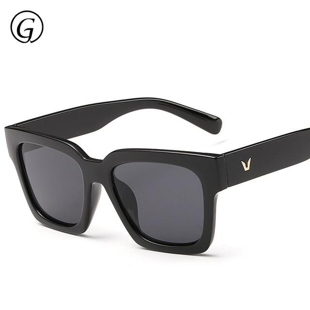 fa9a73ee46f High Quality Luxury Sunglasses Men Brand Designer Polarized Mens Sunglass  Black Square Sun Glasses For Men Fishing Vintage UV400