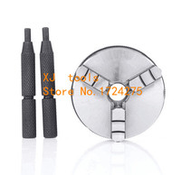 Free shipping K01 50mm 3 jaw chuck lathe chuck mini lathe chuck collet Internal thread M14X1