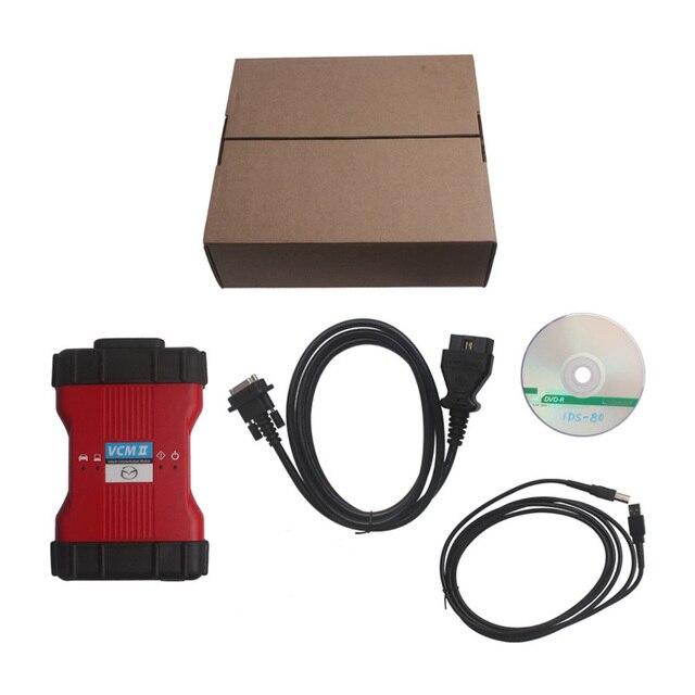 2017 Высокое Качество VCM2 VCM Диагностический Сканер Для mzda V100 II IDS Поддержка Автомобилей IDS VCM 2 OBD2 Сканер 1 шт