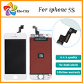 100% Test one by one LCD Display+Touch Screen Digitizer Assembly Replacement for iPhone 5S/5SE  Black&White