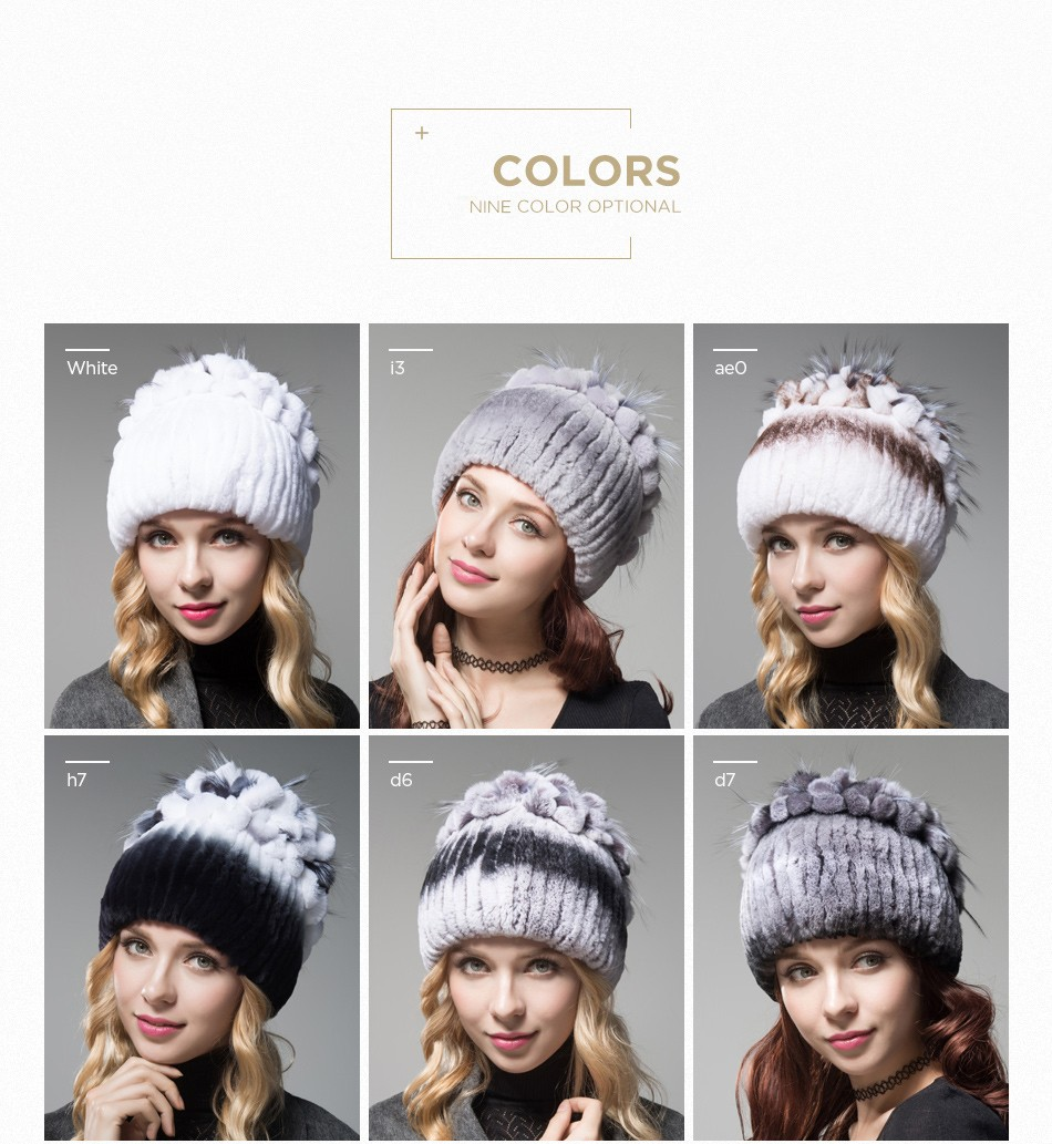 fur winter hats for women PCM003 (4)