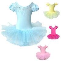 2017 Sevimli Kız Çocuklar Için Bale Elbise Kız Dans Giyim Çocuk Kız Dans Leotard Için Bale Kostümleri Kız Dancewear