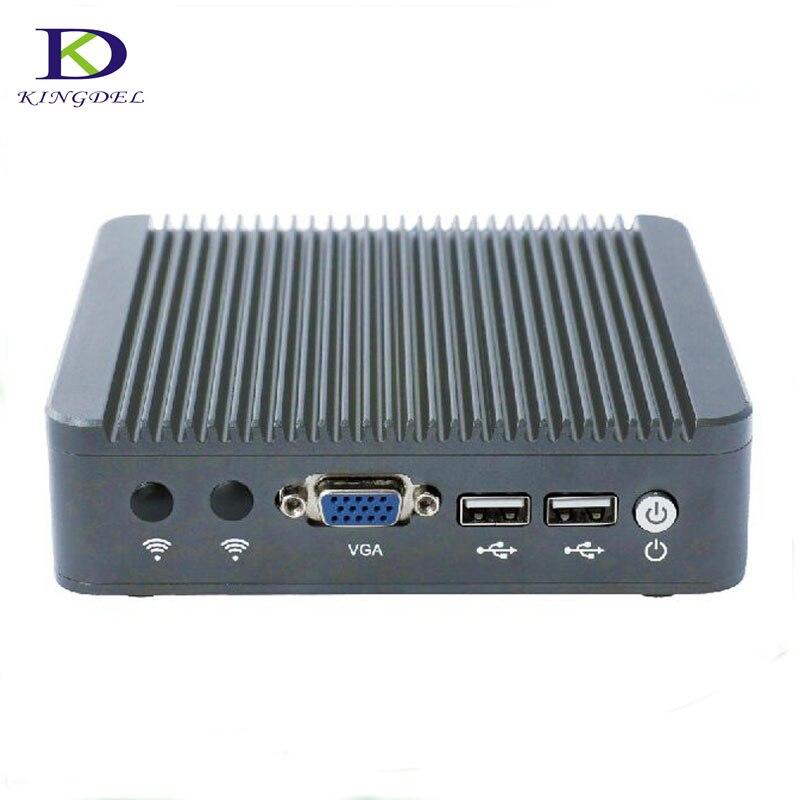 Dual Core Thin Client Mini Computer Celeron J1800 VAG Fanless With Win7 OS 2*USB2.0  2.41up To 2.58 GHz TV Box Desktop Mini PC