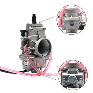 Image 2 - ZSDTRP Mikuni TM24 TM28 TM30 TM32 TM34 TM38 carburador deslizante plano Spigot TM Carbs para Honda CR250 para Kawasaki KX125 150