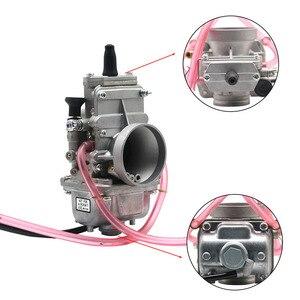 Image 2 - ZSDTRP carburateur plat coulissant Mikuni, compatible avec Honda CR250, pour Kawasaki KX125, TM24, TM28, TM30, TM32, TM34, TM38, 150