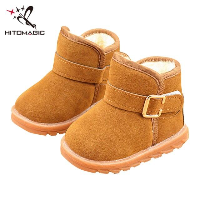 ea8c3f036 HITOMAGIC Snowshoes para niños zapatos de fieltro para niñas niños botas de  invierno niños zapatos de