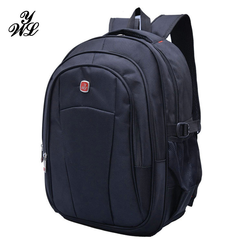 2017 new fashion men laptop backpack computer back bag sac a dos backpacks Travel Nylon waterproof 14/15.6 inch bags -50  kibdream new laptop backpacks designer brand large capacity travel bags men women unisex computer bag bolsas mochila sac a dos