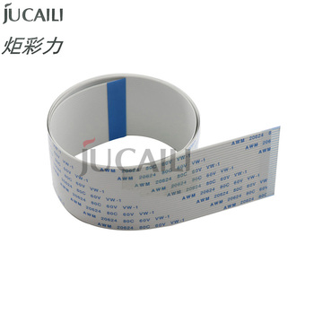 цена на Jucaili 10PCS FFC flat data cable 29pins 400mm for Epson XP600 print head cable for Skycolor Allwin Aifa Witcolor printer 29p