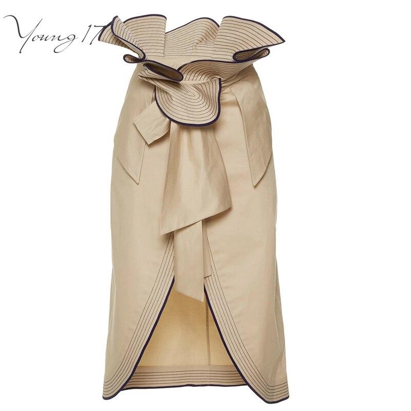 Ladies Brown Skirt 118