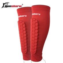 1 Pair Soccer font b Football b font Shin Guards Protective Compression Leg Calf Sleeves Cycling