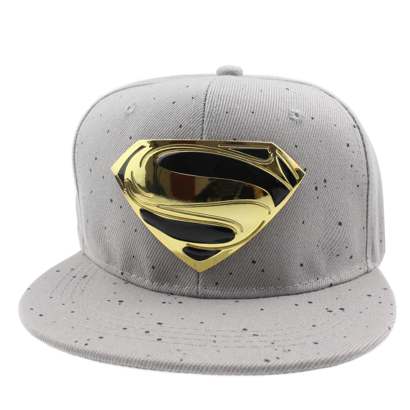 7daa7531 High quality Batman Superman Snapback Caps Woman Hat Cool Gorras Bone  Female hat Baseball Cap hats for men Gorro hip hop cap -in Baseball Caps  from Apparel ...