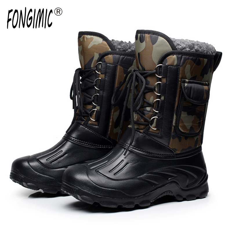 Buy arctic tracks brand autumn winter for Waterproof fishing boots