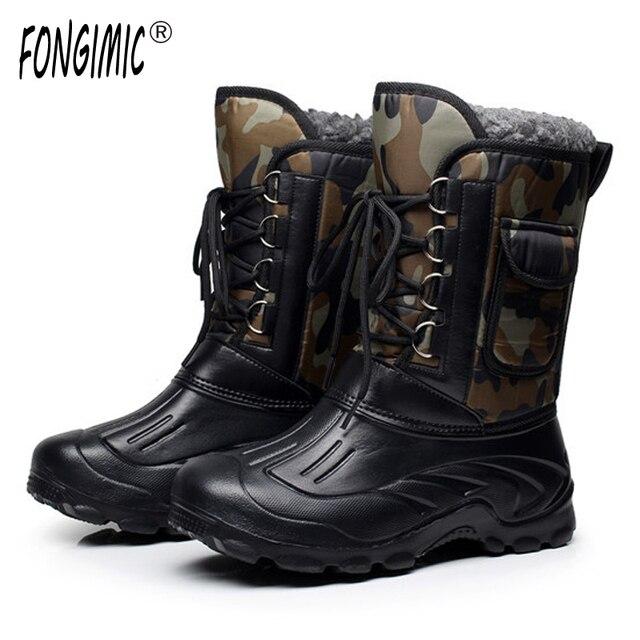 ÁRTICO PISTAS Marca Otoño Calientes Invierno hombres Calientes Otoño botas de nieve d83c51