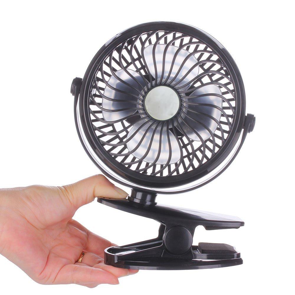 Battery Operated Desk Fan : Mini usb table desk personal fan rechargeable battery