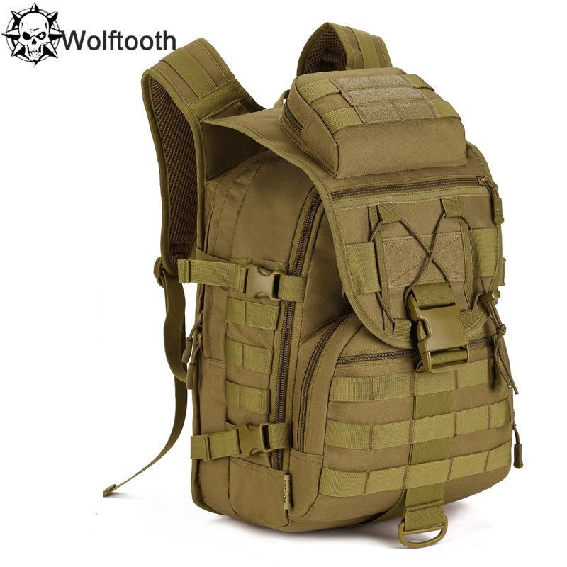 Waterproof Molle Backpack Military 3P Tad Tactical Assault Travel Bag Men Cordura 40L Hunting - Protector Plus Gear Store store
