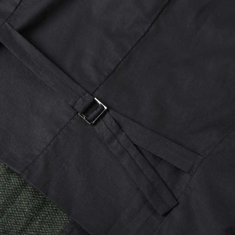 Для мужчин новые зимние army green шерстяные мульти-Карманы костюм жилет slim Для мужчин военные брендовая Повседневная Европейский стиль жилет M127