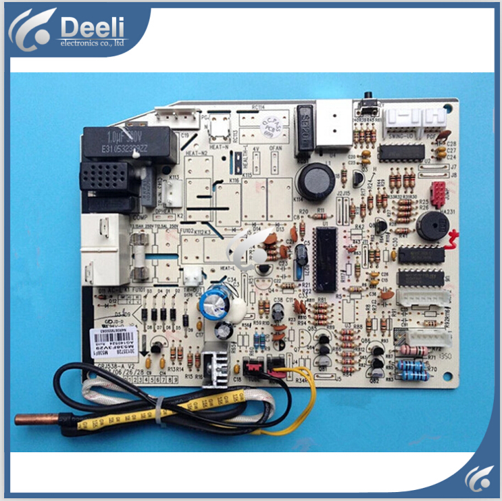 95% new good working for Gree air conditioner motherboard M538F1 30135728 computer board on sale 100% tested for washing machines board xqsb50 0528 xqsb52 528 xqsb55 0528 0034000808d motherboard on sale