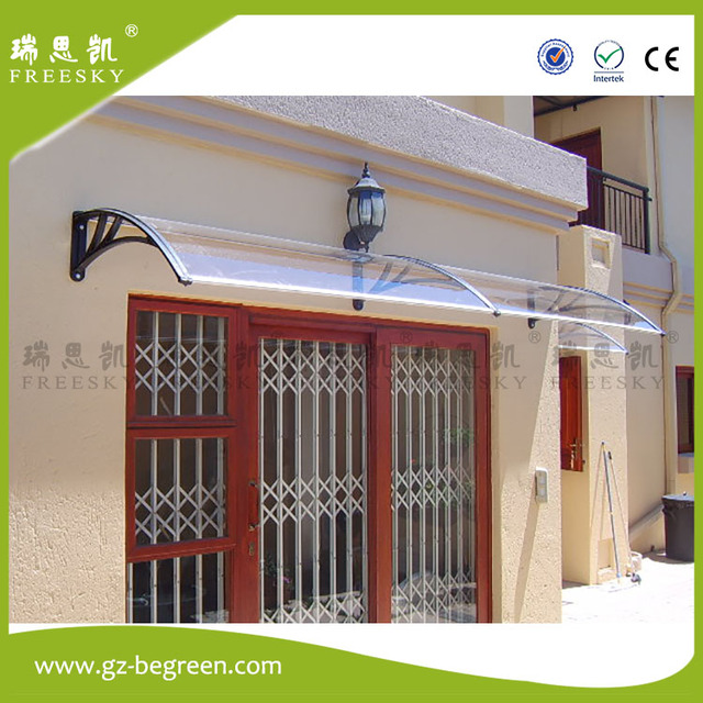 YP100200 100x200cm 100x300cm 100x600cm Solid Polycarbonate Patio Covers  Front Door Awings ,door Canopy Polycarbonate Awning