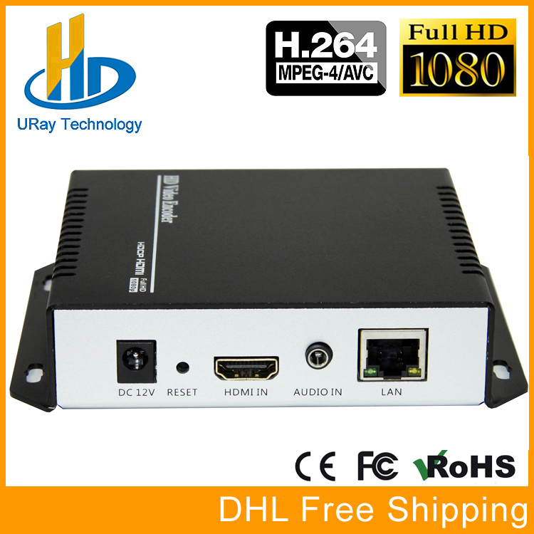 HD 1080 p 720 p H.264 HDMI Video In Streaming Encoder IPTV Encoder Wowza Facebook YouTube RTMP Encoder H264 Per Live flusso di Trasmissione