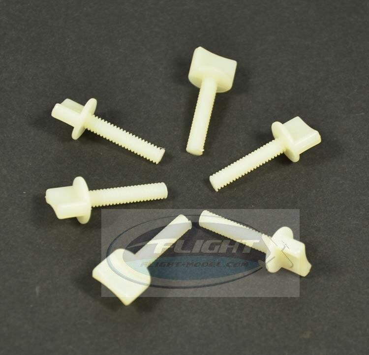 Zyhobby 10pcs/lot M4 M6 Nylon Plastic Bolt Hand Thumb Screw For RC Airplane запчасти и аксессуары для радиоуправляемых игрушек mjx f46 f646 2 4g 4 rc 006 10pcs lot