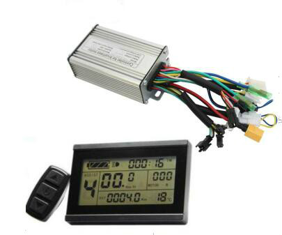 RisunMotor 24V 36V 48V 250 350W 20A Ebike Brushelss Controller Regenerative and Reverse Function LCD3 Bicycle