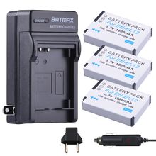 3Packs of EN-EL12 Batteries + Battery Charger Kits for Nikon Coolpix A900, AW100, AW110, AW120, AW130, S31, S800C, S6100, S6200