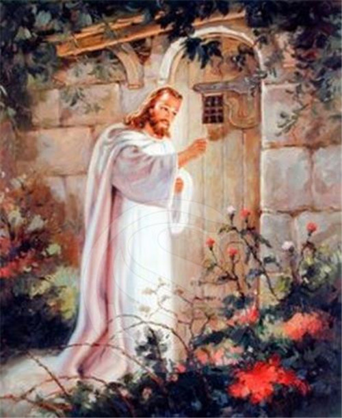 Jesus Christ Knocking At The Door Religious And Spiritual