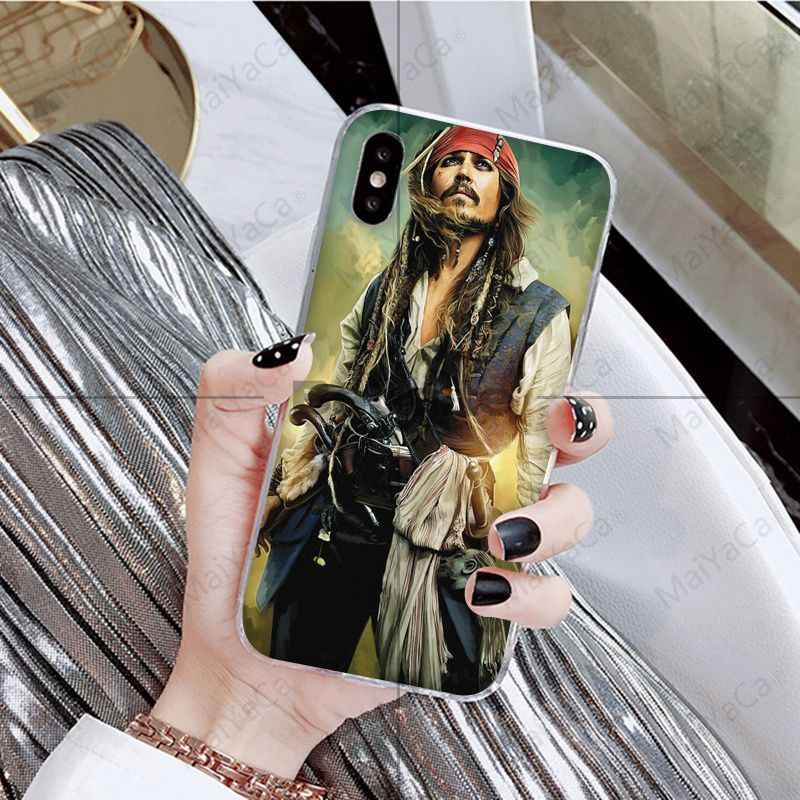 Babaite Alice In Wonderland Mad Hatter Johnny Depp oil Phone Cover for iPhone 8 7 6 6S Plus 5 5S SE XR X XS MAX Coque Shell