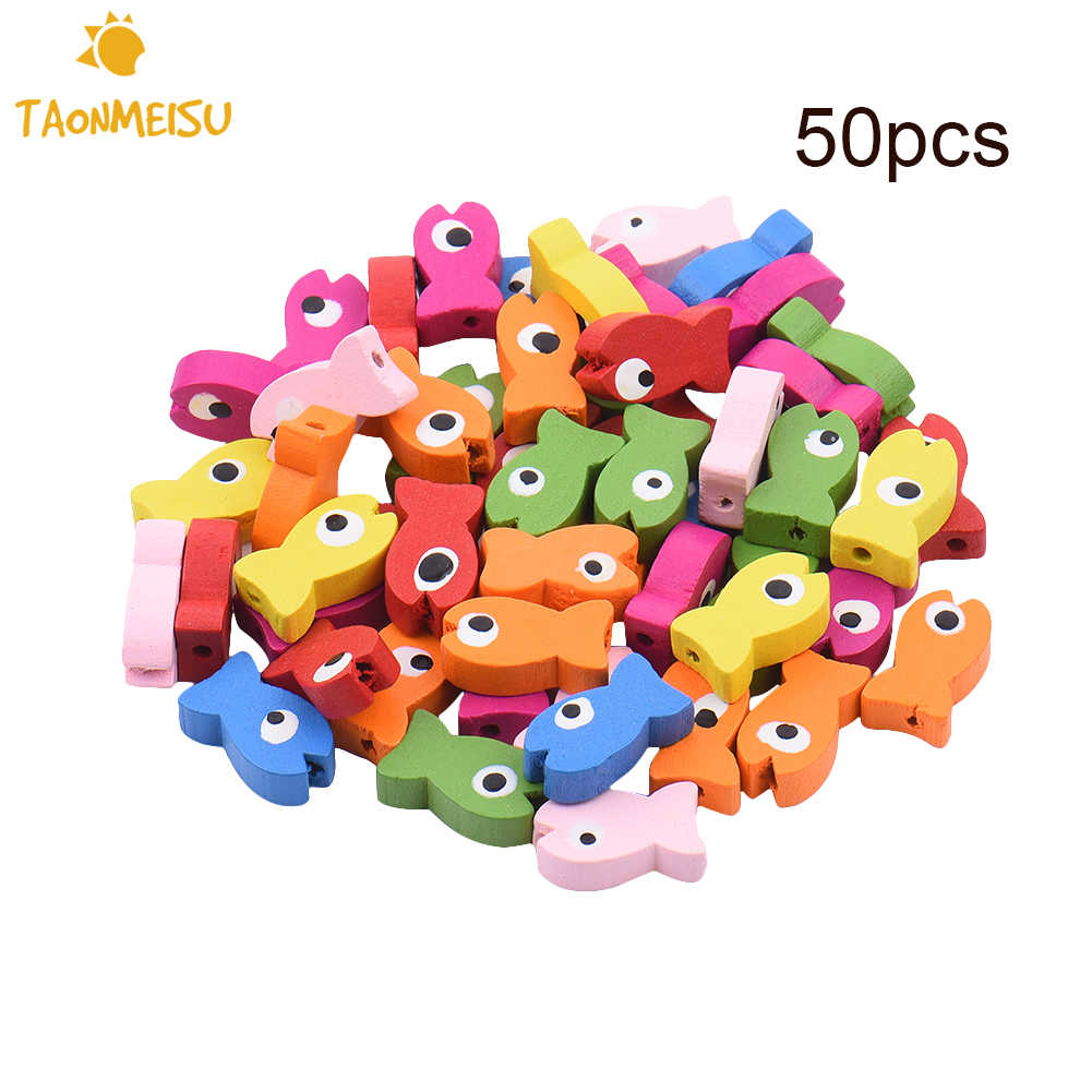 50pcs/pack DIY toy accessories for Parrot  Multipurpose DIY Bird Toy Accessories Colored fish style decorations