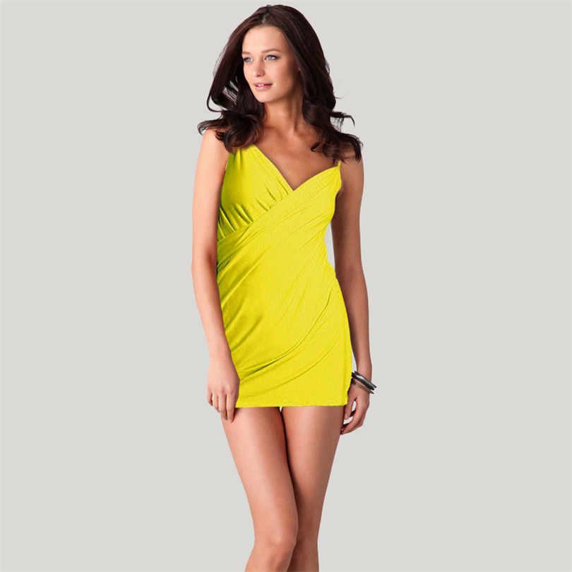 Bãi biển Đầm Mới Đa Dạng treo áo Đầm Bikini áo lưng gợi cảm biển lớn Đầm VB001