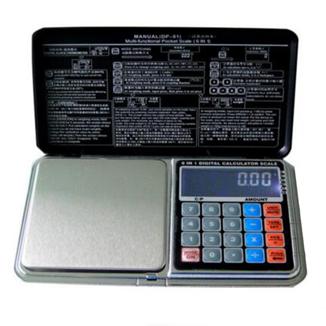 Scales Weigh Electronic-Pocket-Scale Digital New Calculator Jewelry Lcd-Display