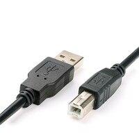 USB Yüksek Hızlı 2.0 A-B Erkek Kablosu Canon Brother Samsung Hp Epson Yazıcı Kablosu 1 m 1.5 m