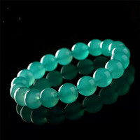 Genuine Mozambique Natural Green Amazonite Round Beads Jewelry Stretch Charm Women Lady Bracelets Drop Shipping