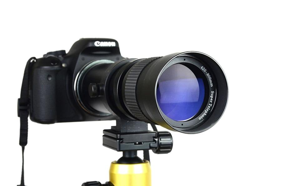 420-800mm F / 8.3-16 Telefoto zoom objektiv + T2 adapter za Canon - Kamera i foto - Foto 6