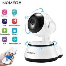 INQMEGA IP Камера Беспроводной 720 P видеонаблюдения дома сетевая камера системы скрытого наблюдения Ночное видение двухстороннее аудио Видеоняни и радионяни V380