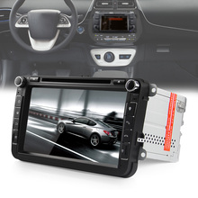 8 inch Touch Screen Mirror Link TPMS 2 din Car Multimedia Player GPS Navigation Car DVD Player for VW Auto Radio FM AM RDS