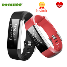 RACAHOO Bluetooth Smart wristband Heart Rate Smart Band Fitness Tracker Smart bracelet Smartband Wearable for xiaomi Android IOS