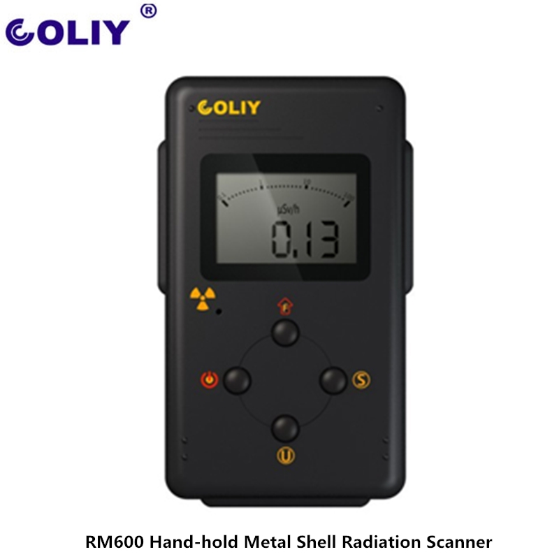 Germany COLIY RM600 Multifunction Nuclear Radiation Detector All-metal Shell Waterproof Geiger Radiation Detector