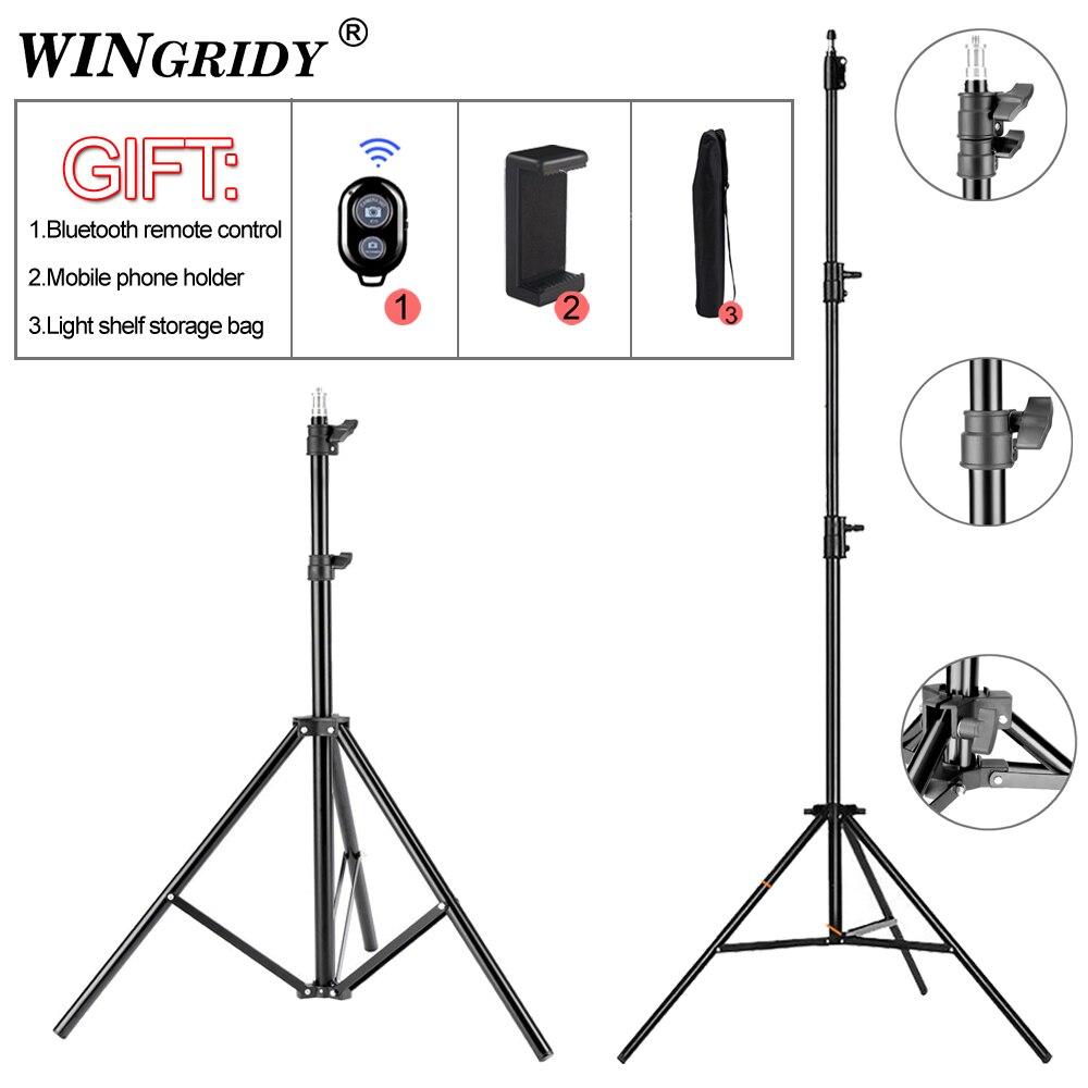 78cm 120cm Light Stand Photography Studio Adjustable Photo Tripod For Camera Photo Lamp Bracket Holder Softbox