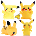 5 Styles 20cm Kawaii Pikachu Plush Toy Cute Anime Plush Toys For Children's Gift  Movies & TV Toys High Quality