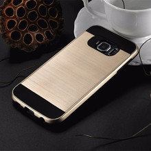 Luxury Ultra Slim Neo brushed Armor Cases For Samsung Galaxy S6 G9200 / S6 Edge G9250 Hybrid TPU+PC Protective Shell Back Cover