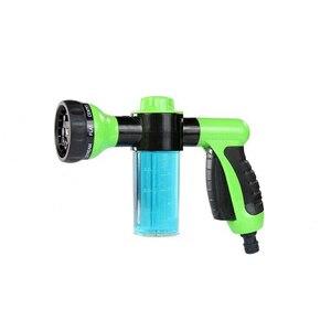 Image 4 - Pistola de água portátil 8 em 1, pistola de água para lavagem de carro, alta pressão pistola de espuma ao ar livre