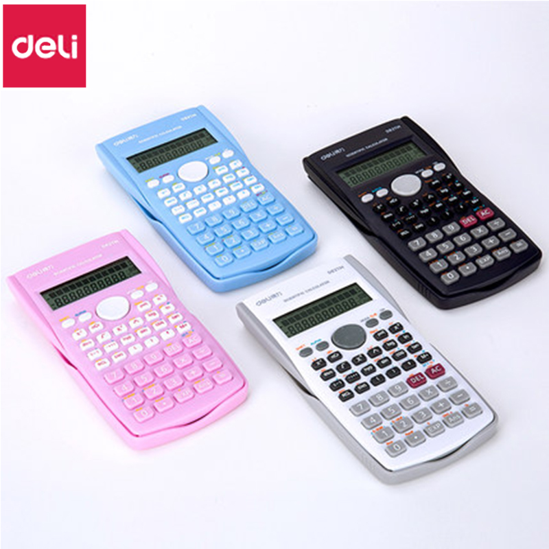1pcs deli d82ms student multi function calculator