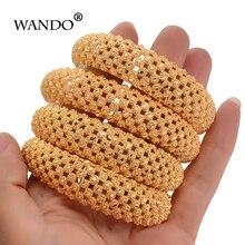 WANDO 4pcs אופנה זהב צבע צמידים לנשים האתיופית צמידי אתני תכשיטי מפלגה מתנות 143