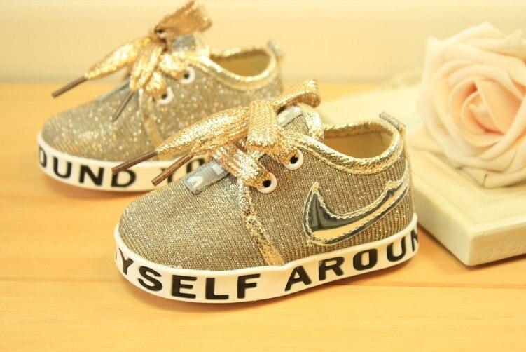 New Arrival 11-13cm Cute Infant Toddler Baby Shoes Girl Boy Soft Sole Sneaker Prewalker First Walker Crib Sport