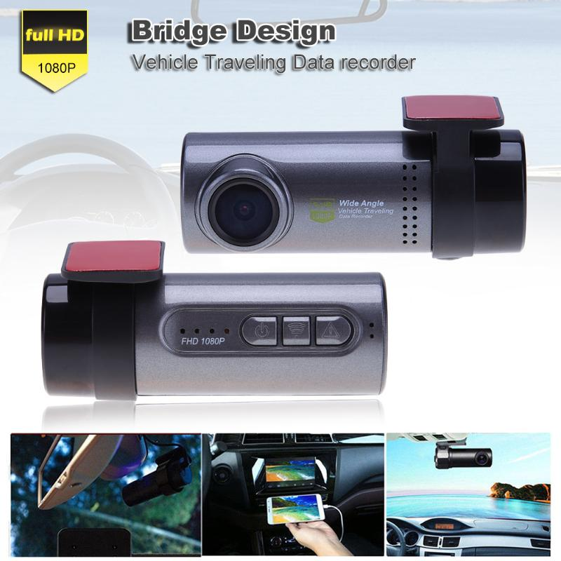 Car DVR Camera With Wifi Front DVR Camera Full HD 1080p Universal Dashcam Video Registrator Recorder Night Vision 140 Wide Angle 2017 mini 1 5 inch screen 1080p hd wifi suction car dvr data camera video recorder ir night vision 140 degree view angle
