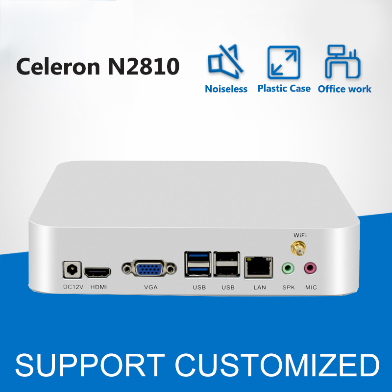 font b Mini b font font b PC b font Windows 7 Celeron N2810 2