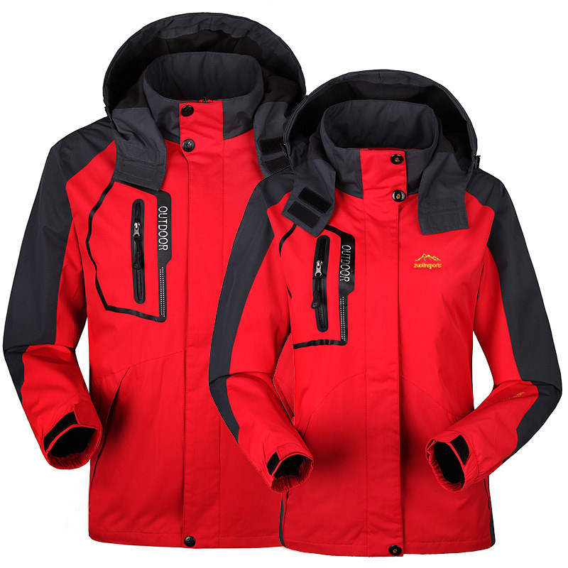 Spring autumn Women jackets Outdoor waterproof Windproof woman Camping Hiking jacket coat women fishing tourism sport - jiajia Co., Ltd. store