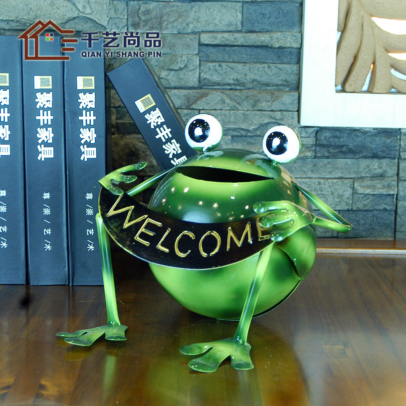 Green Countryside Trick Money Frog Living Room Animal Home Decor Amazing Home Interiors Direct Sales