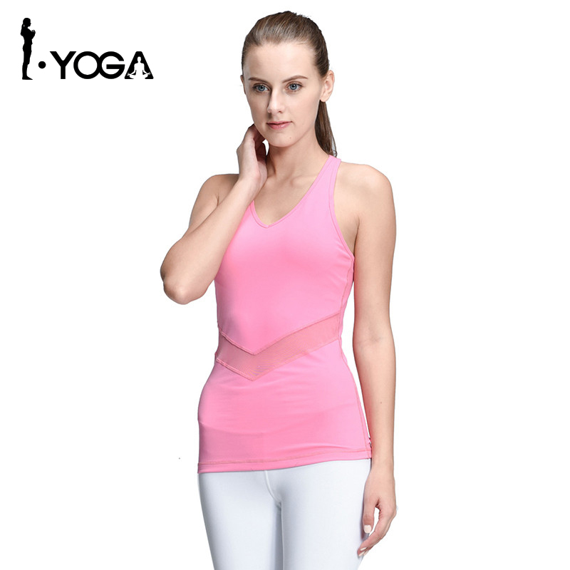 ᗔWomen Yoga Vest Shirt Sleeveless ₩ Dyeing Dyeing Running